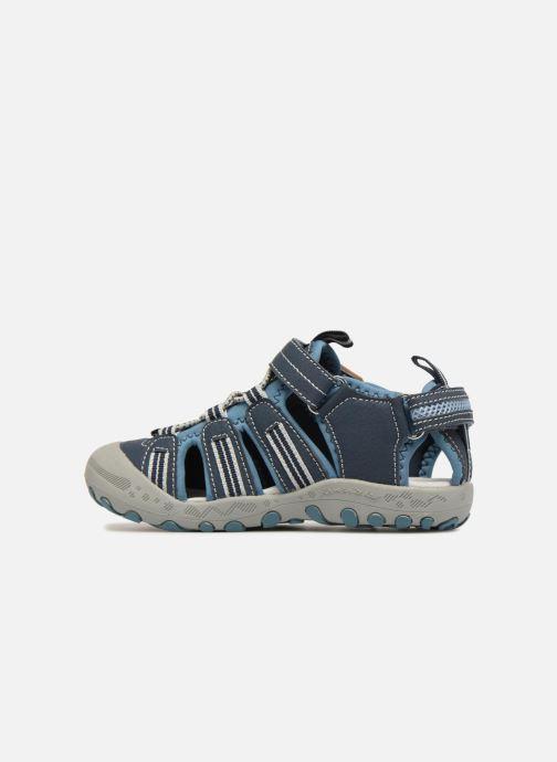 Sandales et nu-pieds Gioseppo Diego Bleu vue face