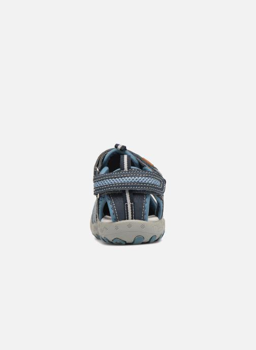 Sandales et nu-pieds Gioseppo Diego Bleu vue droite