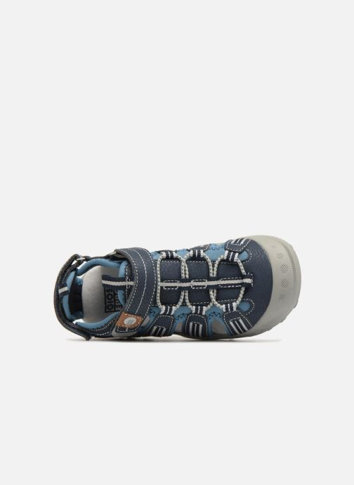 Sandales et nu-pieds Gioseppo Diego Bleu vue gauche