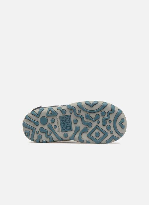 Sandales et nu-pieds Gioseppo Diego Bleu vue haut