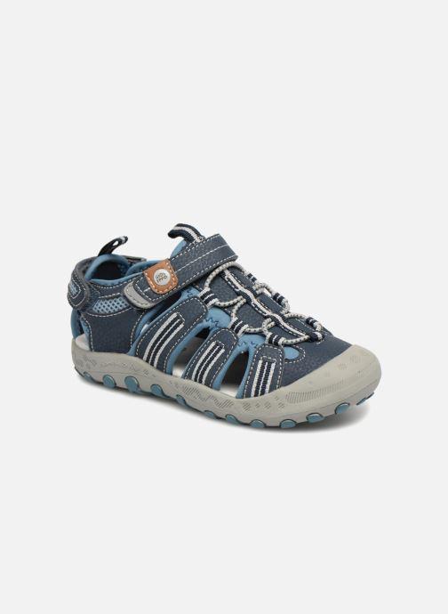 Sandales et nu-pieds Gioseppo Diego Bleu vue détail/paire