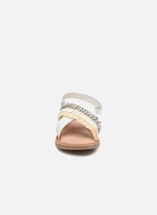 Sandalen Gioseppo Lorenza weiß schuhe getragen