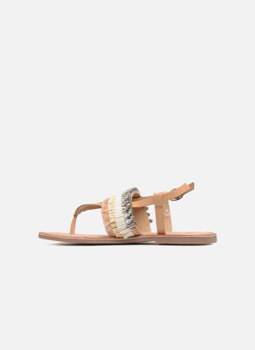 Sandales et nu-pieds Gioseppo Josefina Marron vue face