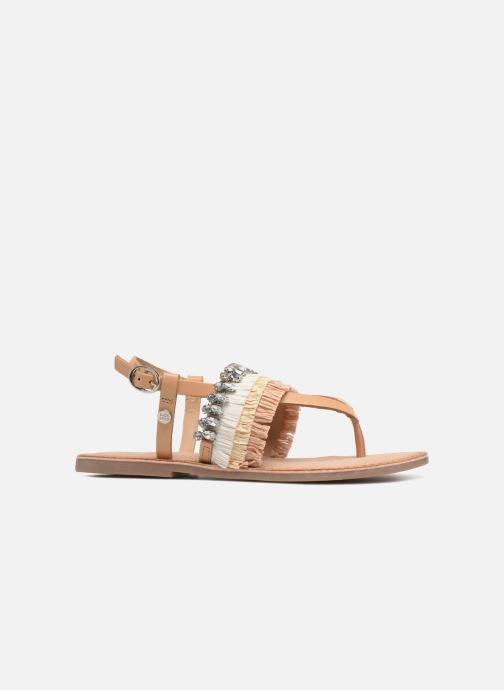Sandales et nu-pieds Gioseppo Josefina Marron vue derrière