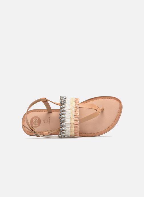 Sandali e scarpe aperte Gioseppo Josefina Marrone immagine sinistra