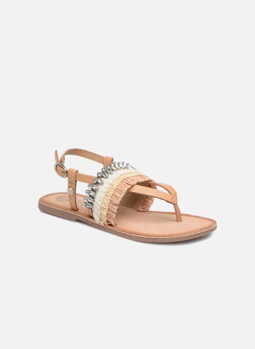 Sandales et nu-pieds Gioseppo Josefina Marron vue détail/paire