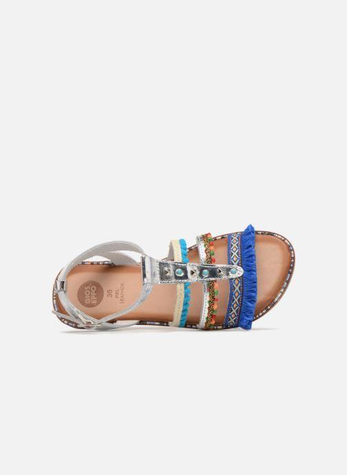 Sandales et nu-pieds Gioseppo Isis Multicolore vue gauche