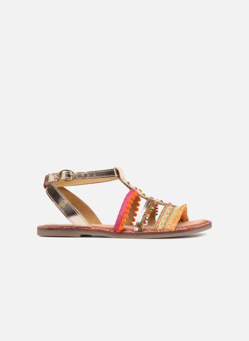 Sandales et nu-pieds Gioseppo Isis Or et bronze vue derrière