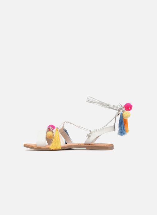 Sandales et nu-pieds Gioseppo Helena Blanc vue face