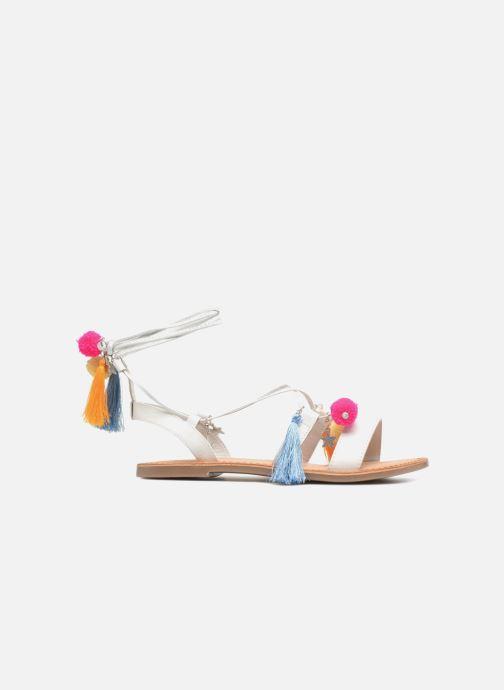 Sandales et nu-pieds Gioseppo Helena Blanc vue derrière