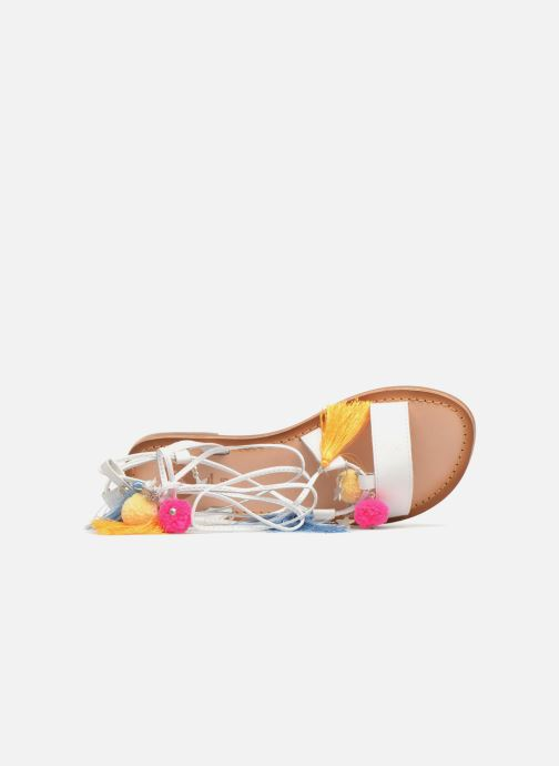 Sandales et nu-pieds Gioseppo Helena Blanc vue gauche
