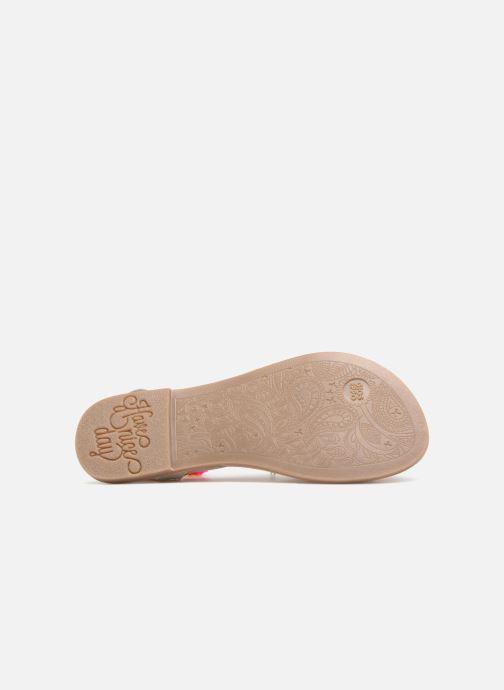 Sandales et nu-pieds Gioseppo Helena Blanc vue haut