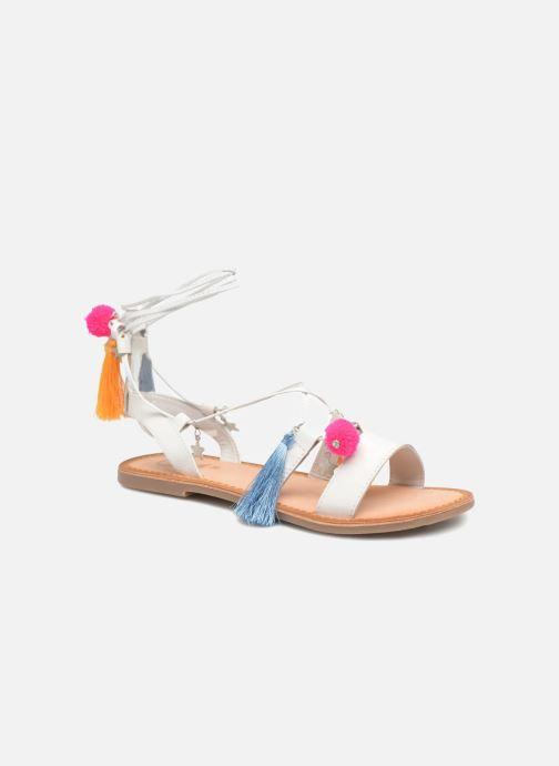 Sandales et nu-pieds Gioseppo Helena Blanc vue détail/paire
