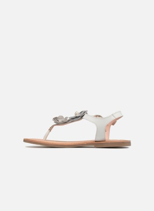 Sandales et nu-pieds Gioseppo Evangelina Blanc vue face
