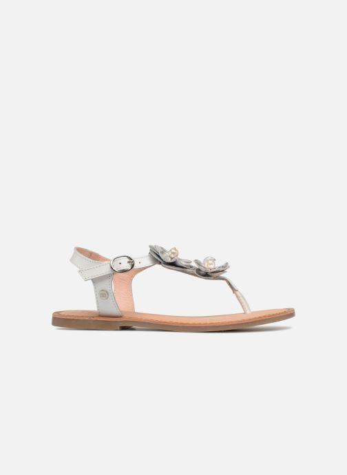 Sandales et nu-pieds Gioseppo Evangelina Blanc vue derrière