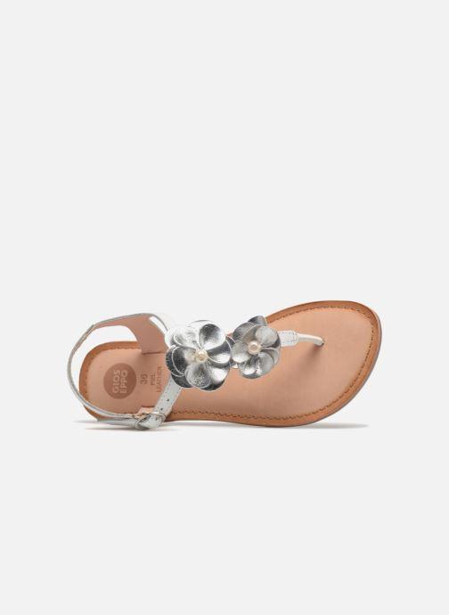 Sandales et nu-pieds Gioseppo Evangelina Blanc vue gauche