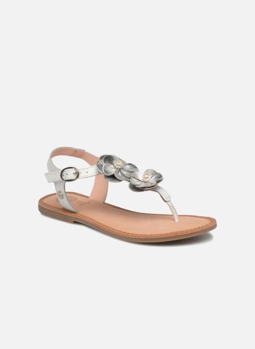 Sandales et nu-pieds Gioseppo Evangelina Blanc vue détail/paire