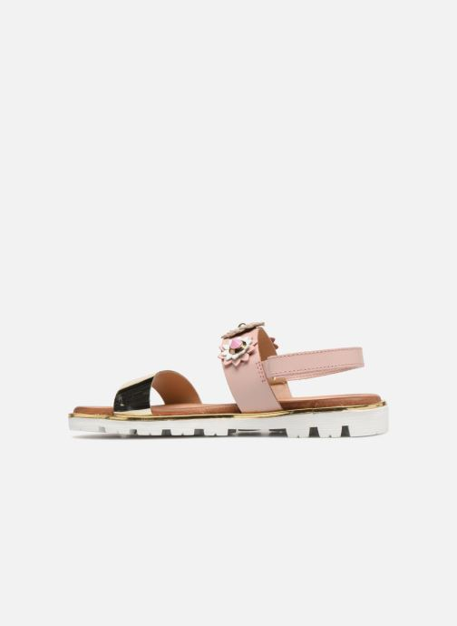 Sandalen Gioseppo Clarisa rosa ansicht von vorne