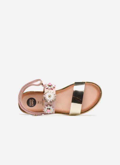 Sandales et nu-pieds Gioseppo Clarisa Rose vue gauche