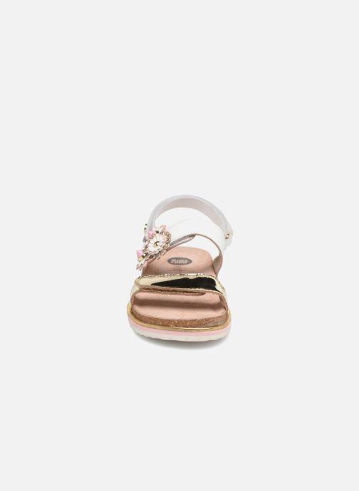 Sandales et nu-pieds Gioseppo Barbara Blanc vue portées chaussures