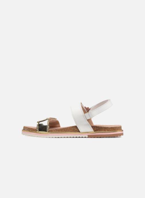 Sandales et nu-pieds Gioseppo Barbara Blanc vue face