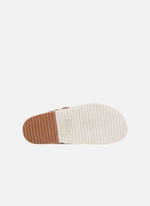 Sandales et nu-pieds Gioseppo Barbara Blanc vue haut