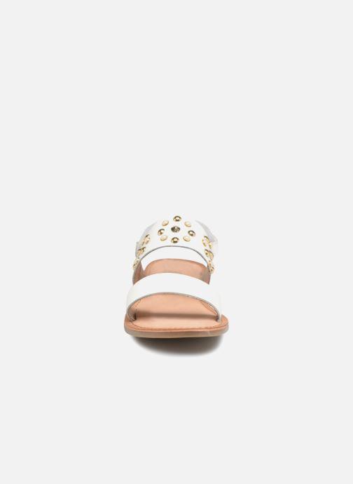 Sandali e scarpe aperte Gioseppo Arabella Bianco modello indossato