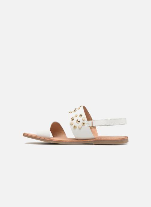 Sandali e scarpe aperte Gioseppo Arabella Bianco immagine frontale
