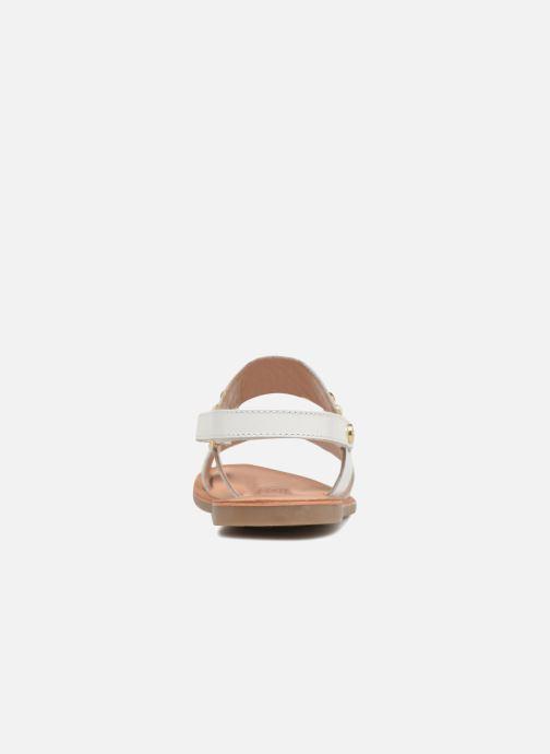 Sandali e scarpe aperte Gioseppo Arabella Bianco immagine destra
