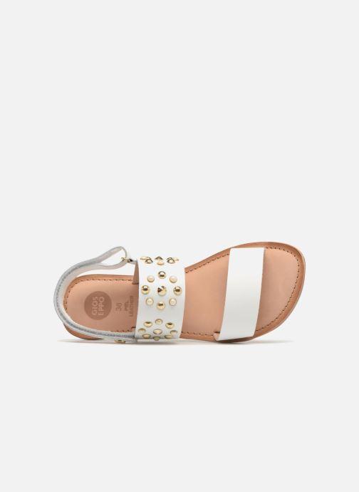 Sandali e scarpe aperte Gioseppo Arabella Bianco immagine sinistra