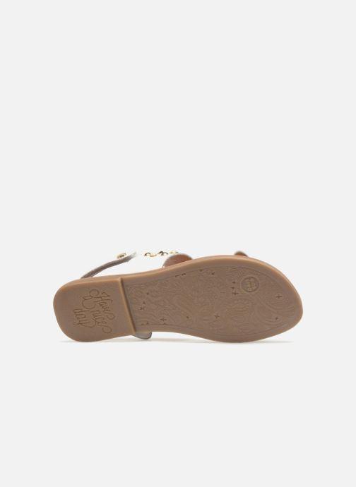 Sandali e scarpe aperte Gioseppo Arabella Bianco immagine dall'alto