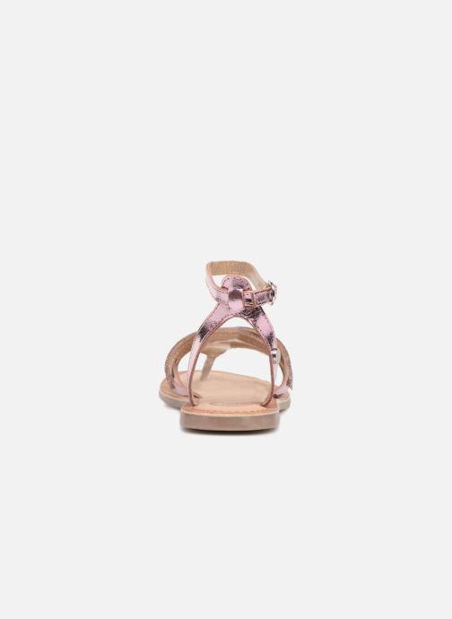 Sandali e scarpe aperte Gioseppo Zoe Argento immagine destra