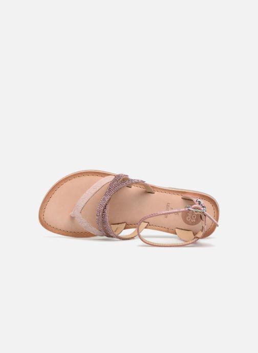 Sandali e scarpe aperte Gioseppo Zoe Argento immagine sinistra