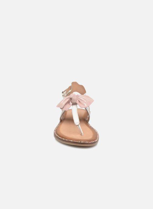 Sandalen Gioseppo Wanda weiß schuhe getragen