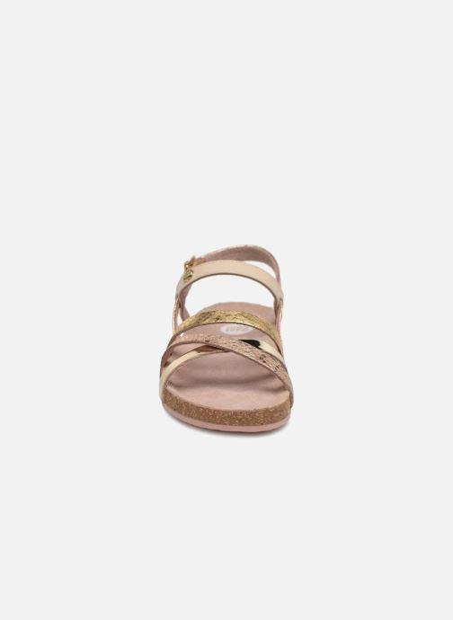 Sandalen Gioseppo Vera gold/bronze schuhe getragen
