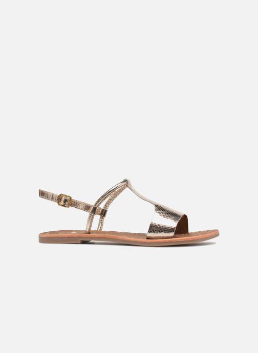 Sandales et nu-pieds Gioseppo Arida Or et bronze vue derrière