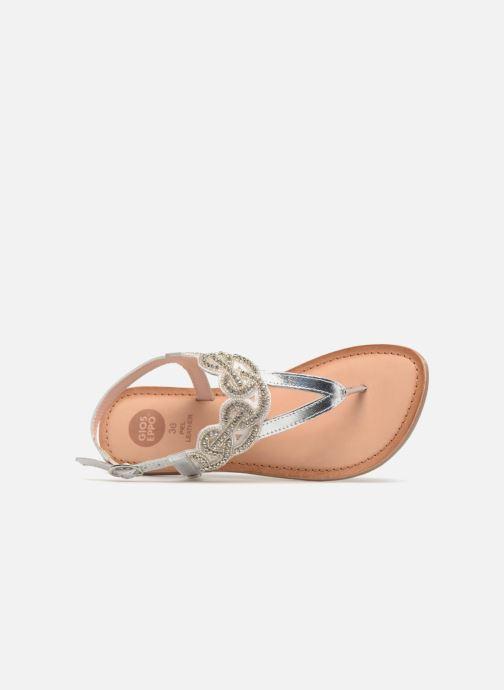 Sandales et nu-pieds Gioseppo Roxana Blanc vue gauche