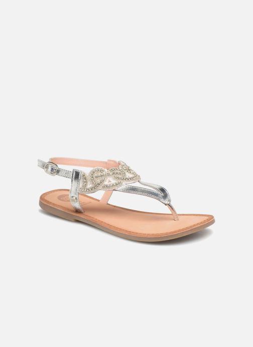 Sandales et nu-pieds Gioseppo Roxana Blanc vue détail/paire