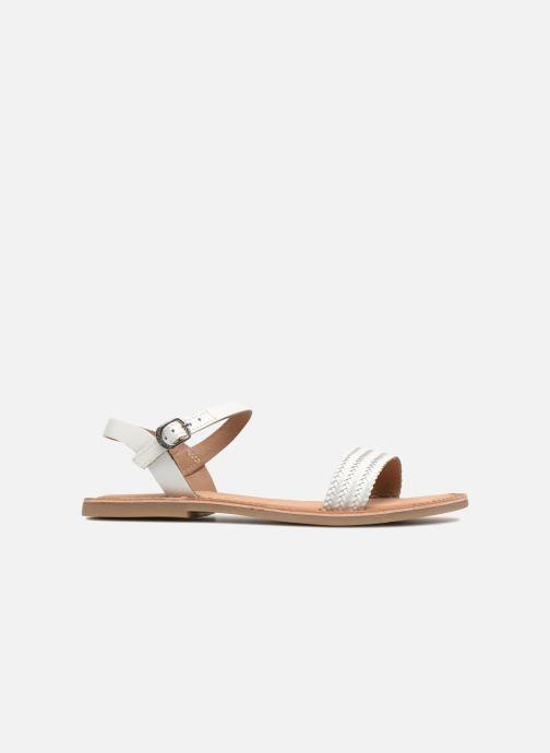 Sandales et nu-pieds Gioseppo Graminea Blanc vue derrière