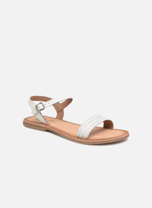 Sandales et nu-pieds Gioseppo Graminea Blanc vue détail/paire