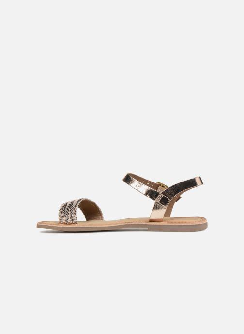 Sandales et nu-pieds Gioseppo Graminea Or et bronze vue face