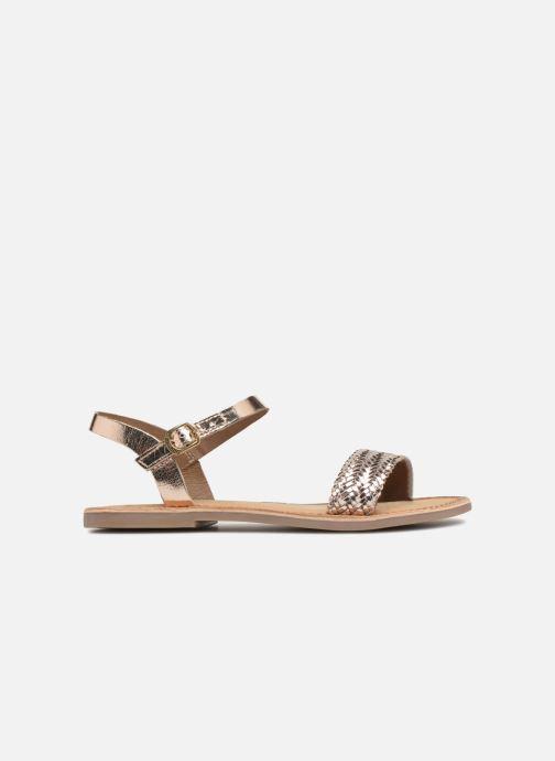 Sandales et nu-pieds Gioseppo Graminea Or et bronze vue derrière