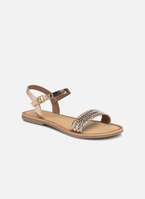 Sandales et nu-pieds Gioseppo Graminea Or et bronze vue détail/paire