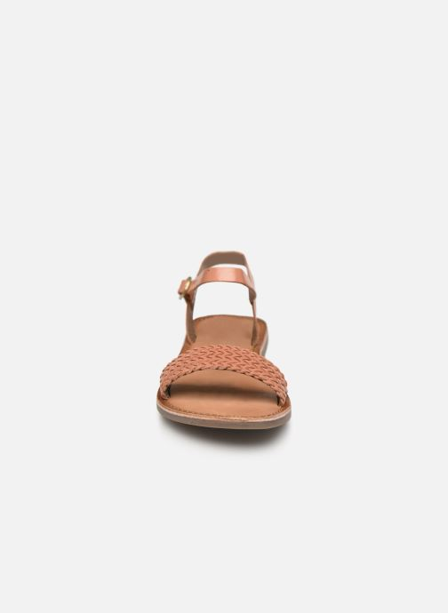 Sandalen Gioseppo Graminea braun schuhe getragen