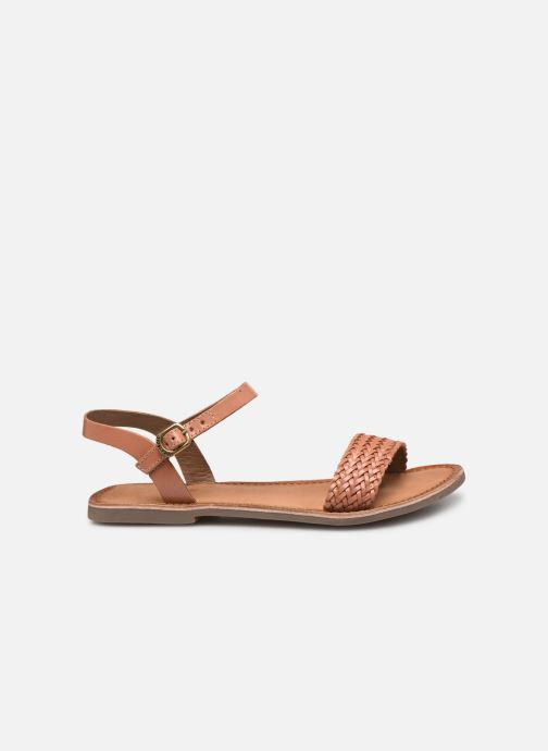 Sandales et nu-pieds Gioseppo Graminea Marron vue derrière