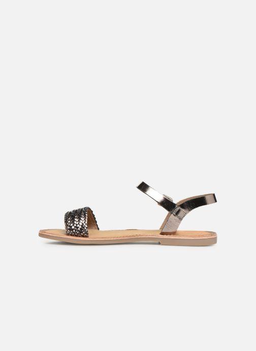 Sandales et nu-pieds Gioseppo Graminea Argent vue face