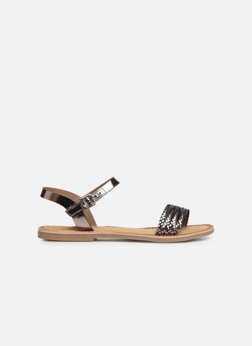 Sandales et nu-pieds Gioseppo Graminea Argent vue derrière