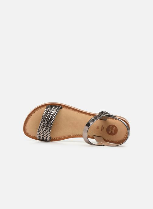Sandals Gioseppo Graminea Silver view from the left
