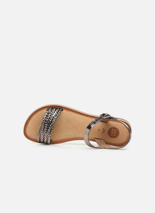 Sandales et nu-pieds Gioseppo Graminea Argent vue gauche