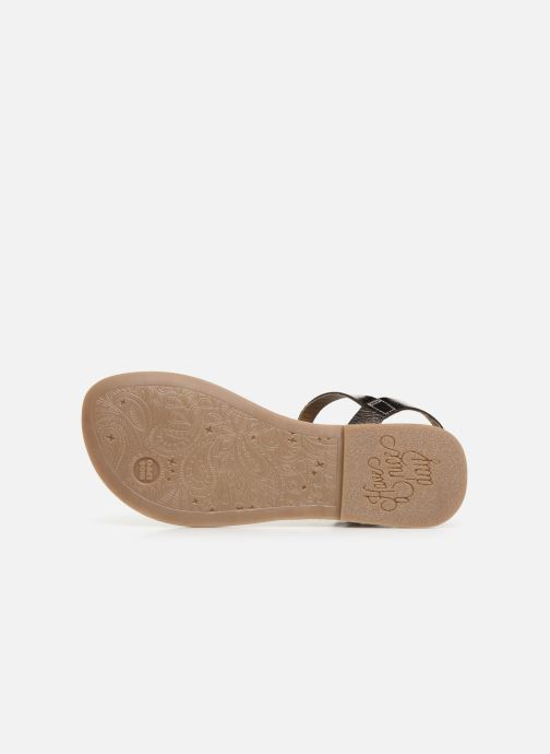 Sandales et nu-pieds Gioseppo Graminea Argent vue haut